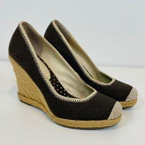 Banana Republic Espadrille Wedge Shoes